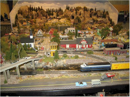 Rocky Mountain Train Show - Operating Displays